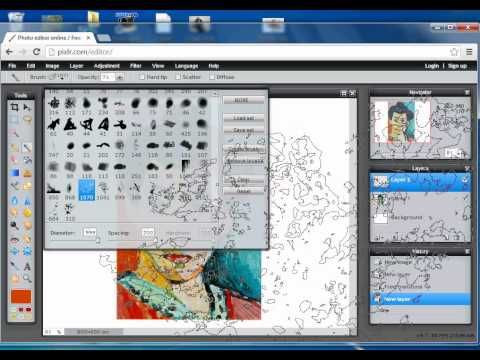 Digital Painting Tutorial On Pixlr Mcmurray Art Room With