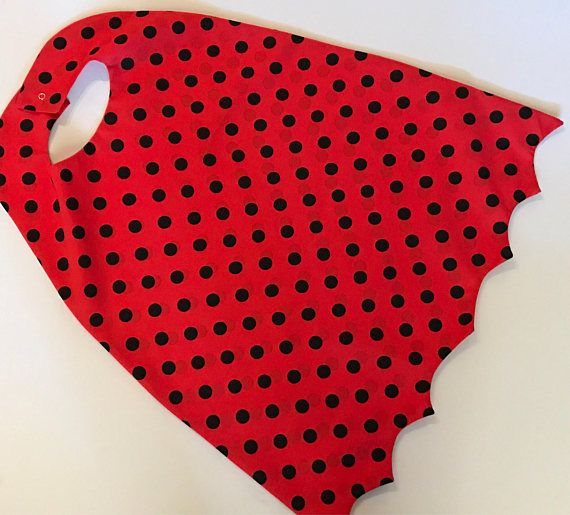 Captain Underpants Inspired Kids Costume Superhero Cape Red and Black Polka Dot Cape #captainunderpantscostume Captain Underpants Kids Halloween Costume Superhero Cape Red #captainunderpantscostume