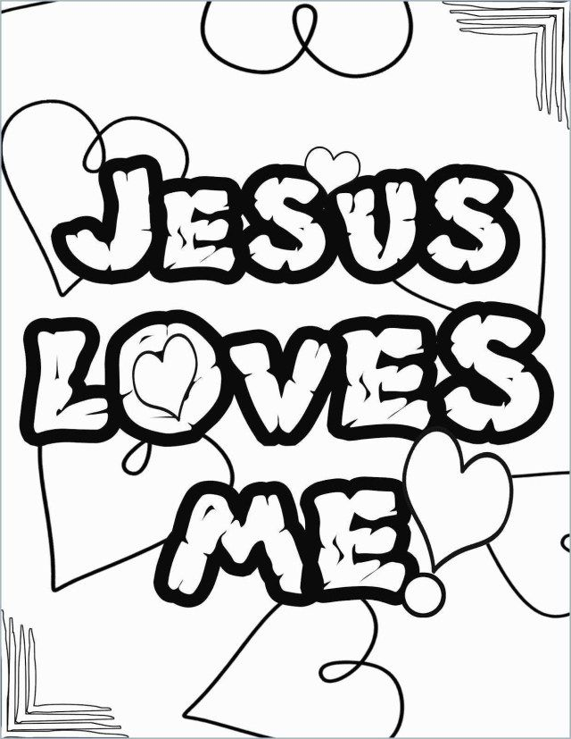 25 Awesome Photo Of Jesus Loves Me Coloring Page Coloring Pages