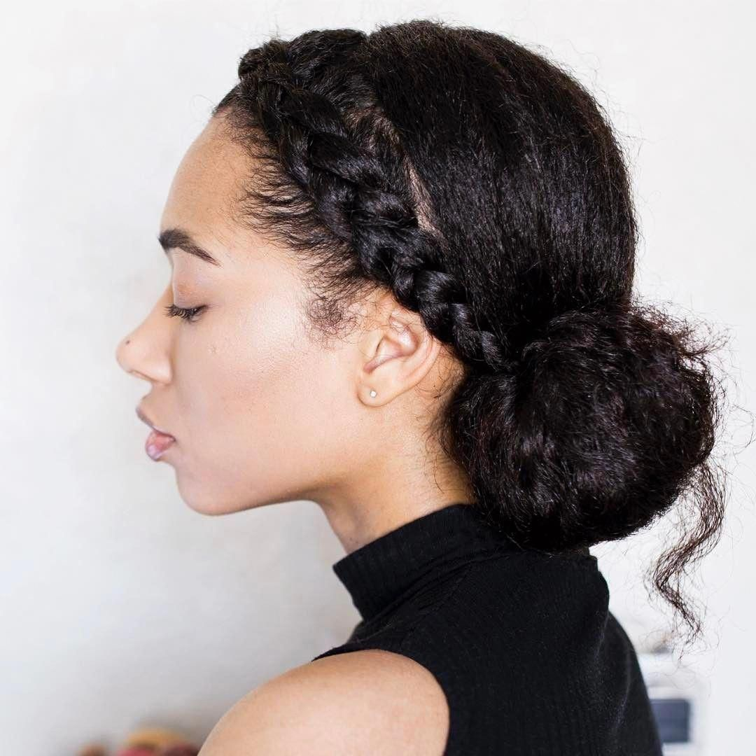 40 Different Ways To Style Your Natural Hair At Home Thrivenaija Natural Hair Styles Curly Hair Styles Naturally Braided Hairstyles For Wedding