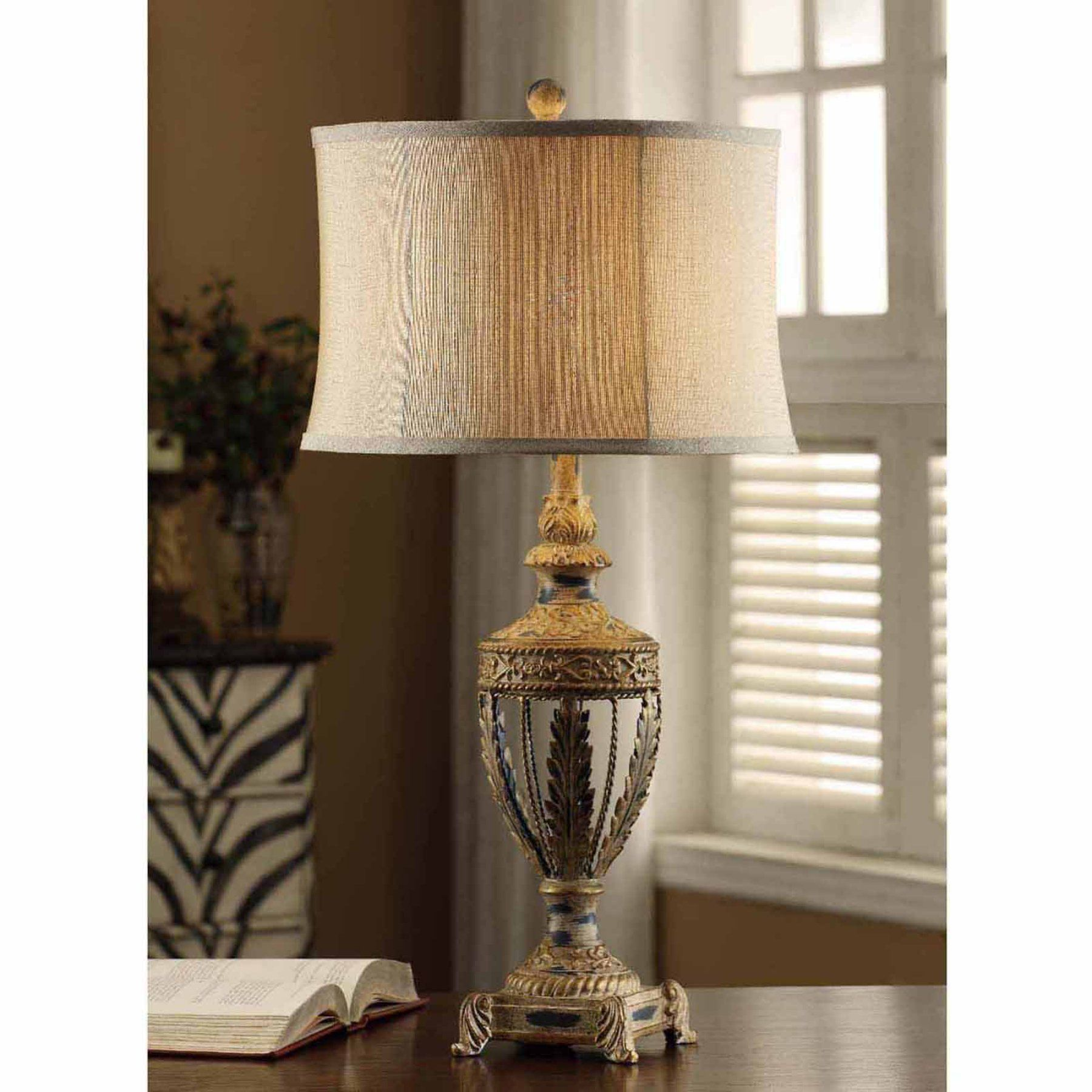 Crestview collection classics table lamp cvaer611 products crestview collection classics table lamp cvaer611 geotapseo Gallery
