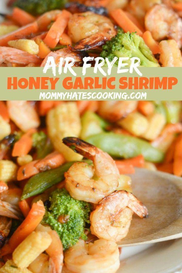 Air Fryer Honey Garlic Shrimp images
