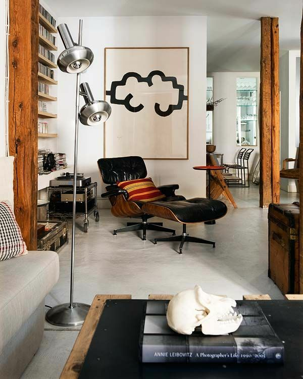 moderne relaxliegen wohnzimmer modern einrichten entspannungsecke - Interior Design Wohnzimmer Modern
