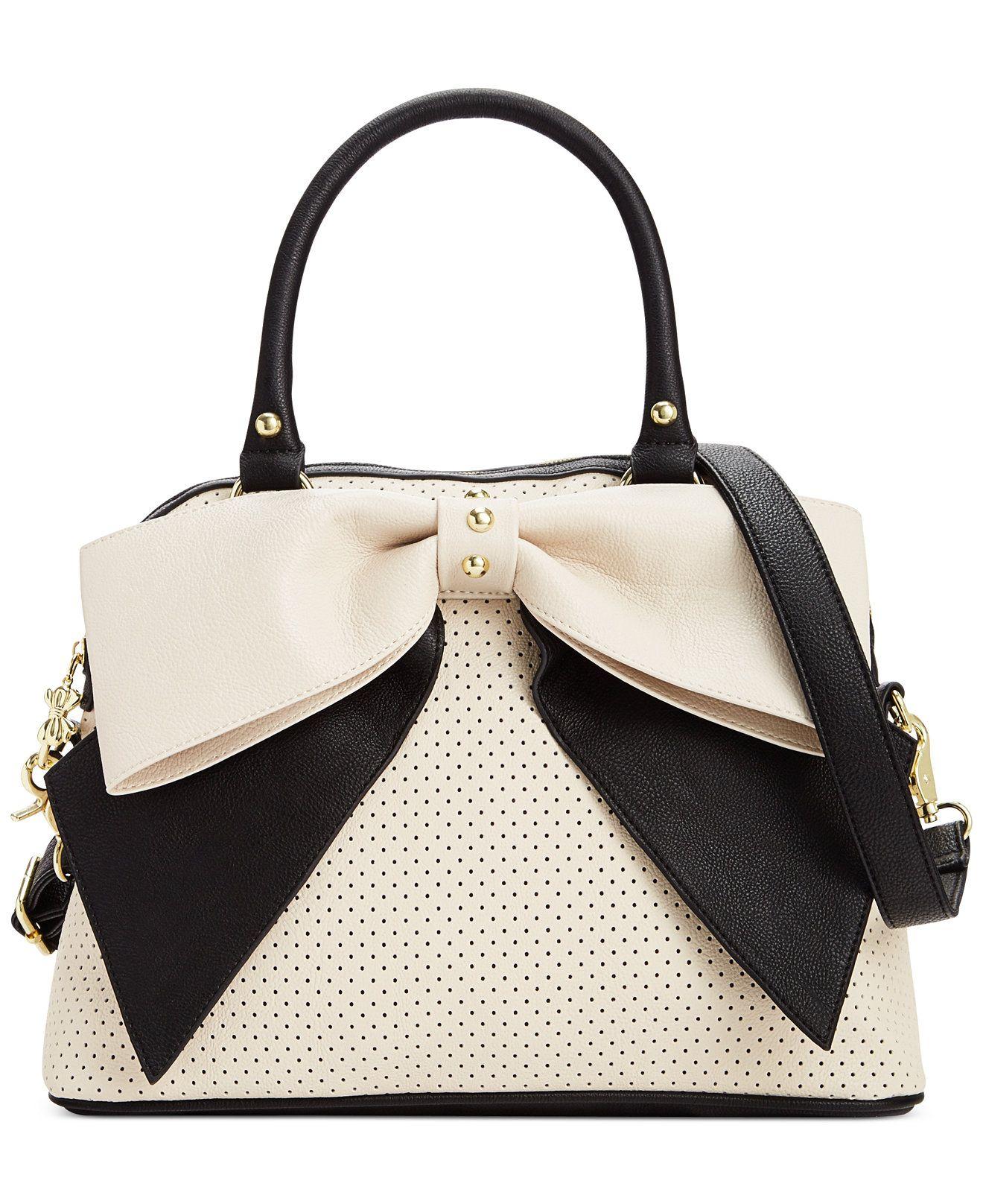 e1580f57c1 Betsey Johnson Macy s Exclusive Dome Satchel - Impulse Contemporary Brands  - Handbags   Accessories - Macy s