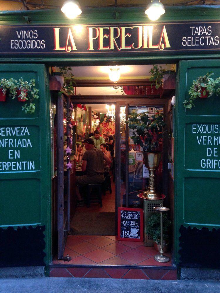Fotos De La Perejila Fachadas De Tiendas Callejero De Madrid Restaurantes