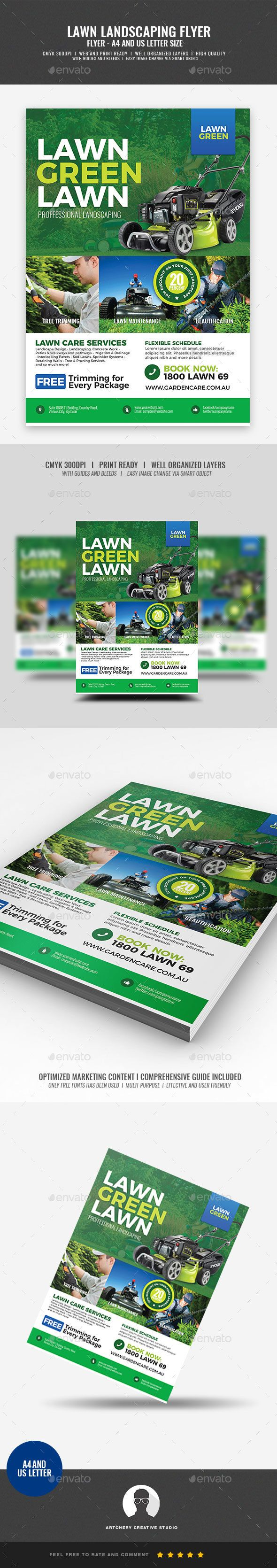 landscaping and lawn care flyer corporate flyers corporate flyer design pinterest flyer design flyer design templates and flyer template