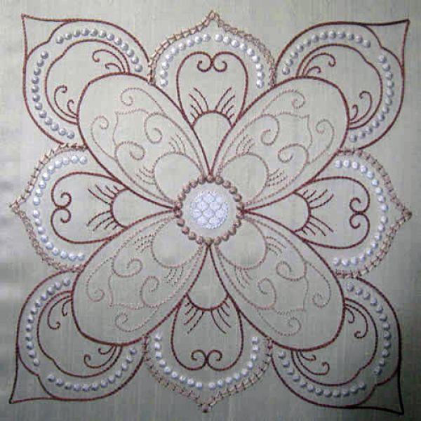 Candlewicking Designs | Candlewicking Patterns | Candlewicking ... : machine embroidery quilting - Adamdwight.com