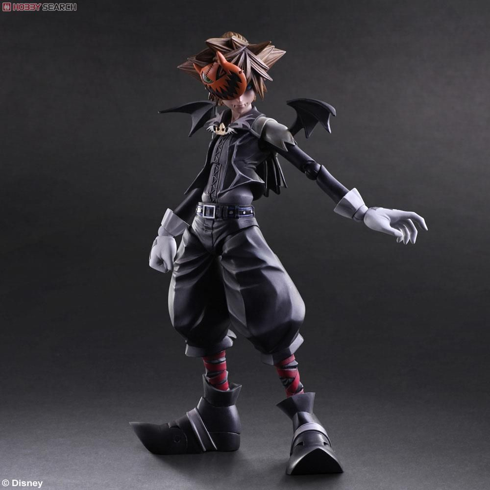 Play Arts Kai Kingdom Hearts Ii Halloween Town Sora: [Close] Kingdom Hearts II Play Arts Kai Sora Halloween