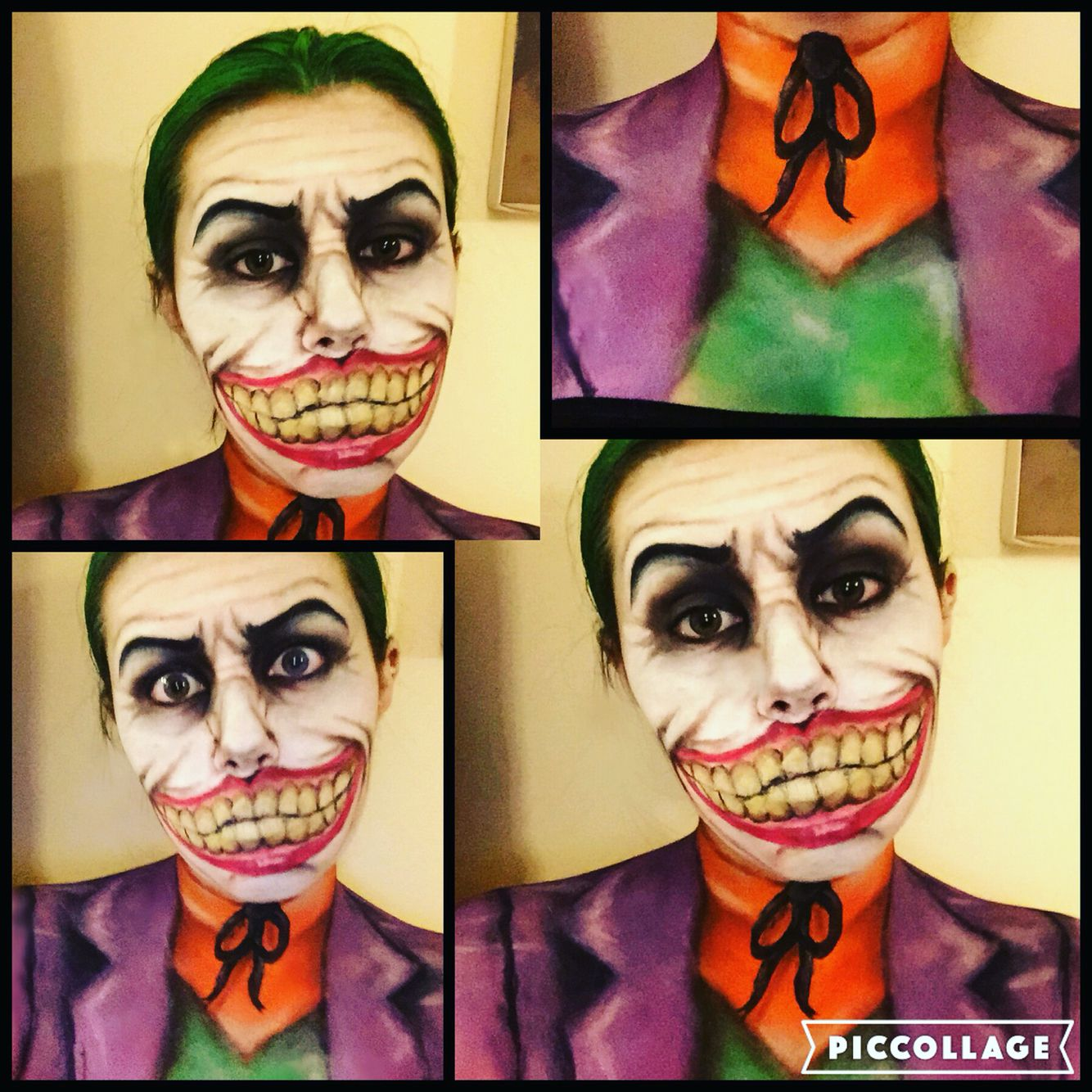 My Joker makeup makeup joker sfx facepaint Joker