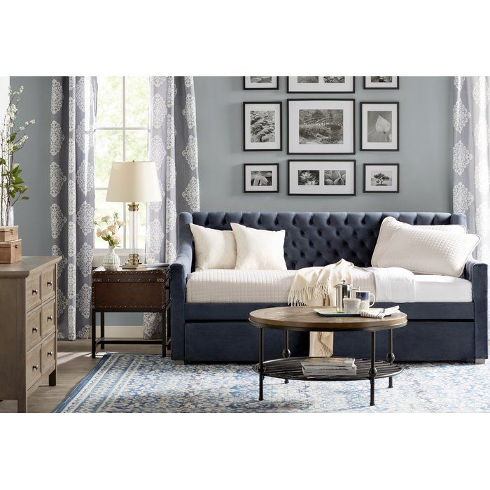 monarch hill ambrosia twin daybed with trundle  living