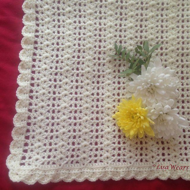 Ravelry: It\'s a breeze - baby blanket pattern by Lisa Wears ...