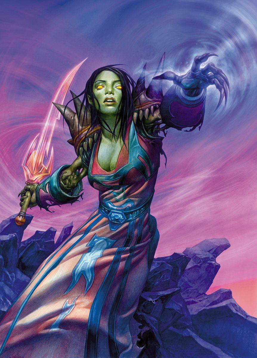 Undead Mage - World of Warcraft | Gabor Szikszai