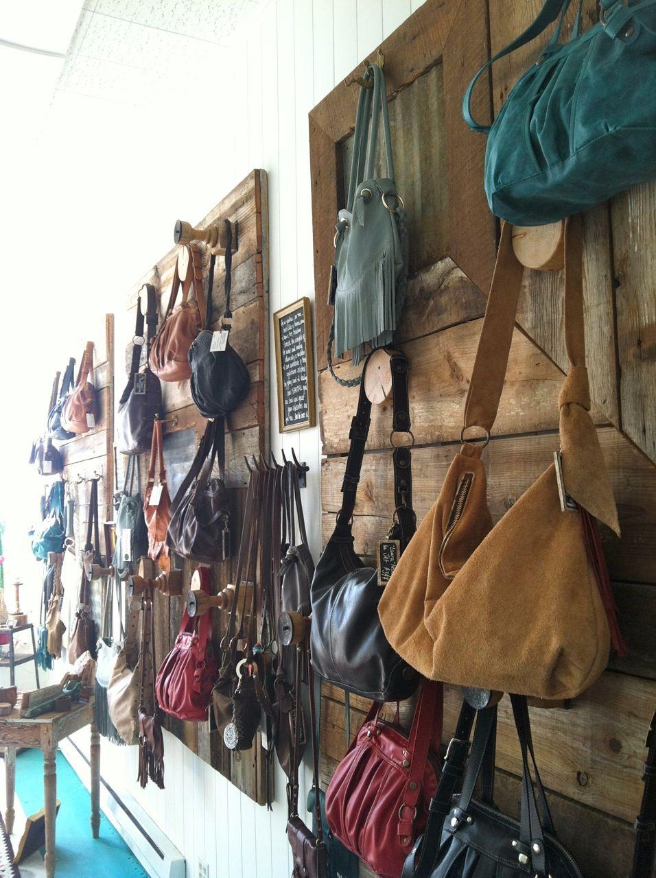 This is how we merchandise handbags      Handmade Studio