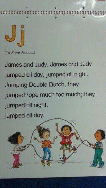 J Alliteration Poem | Practicing specific letters ...