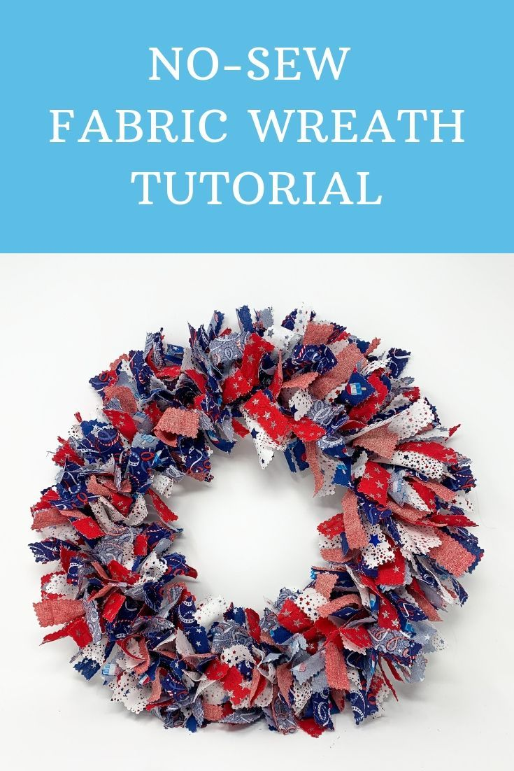 Photo of Wreath without sewing