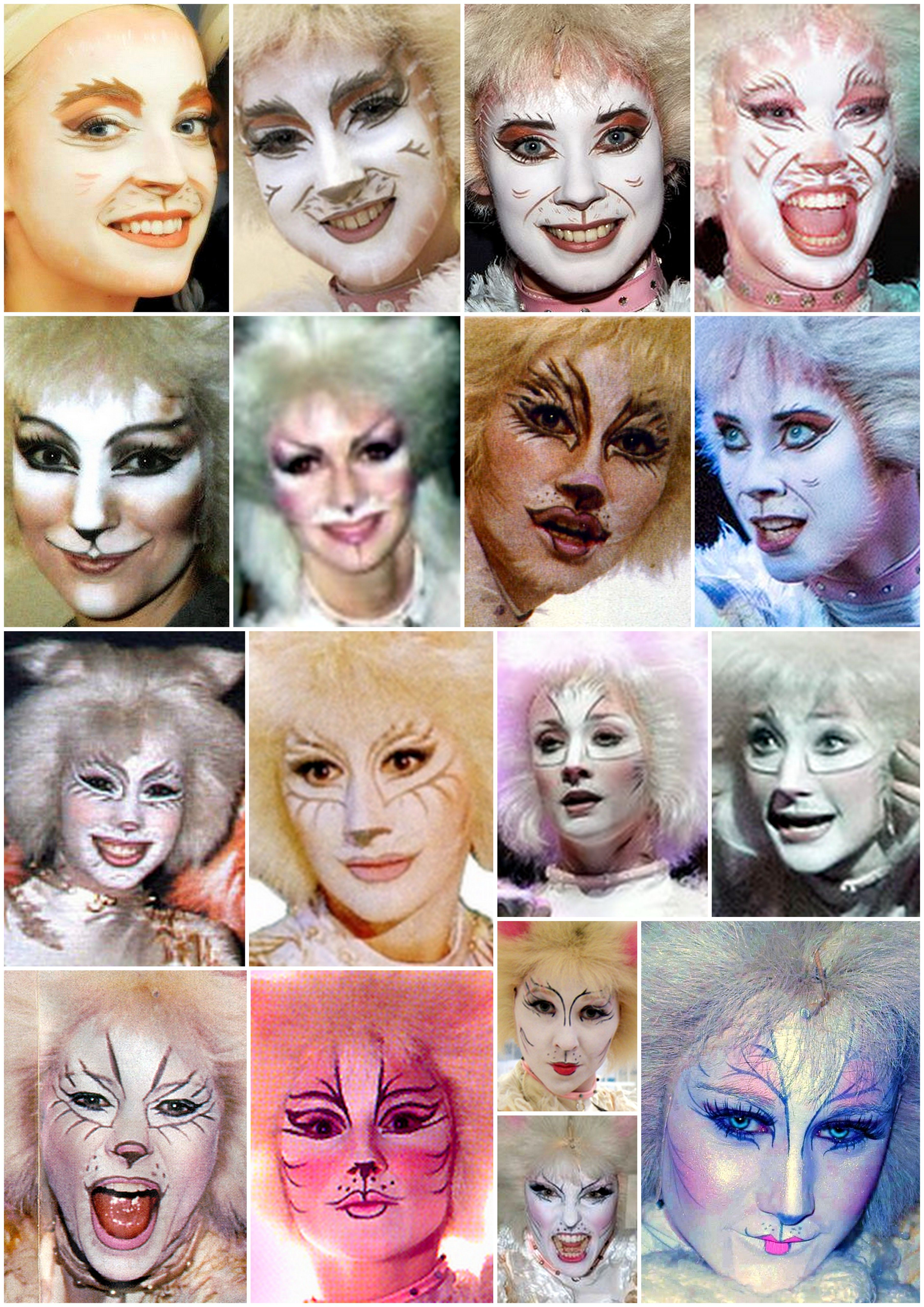 Cats Makeup Collages Victoria Cat Makeup Jellicle Cats Cats Musical