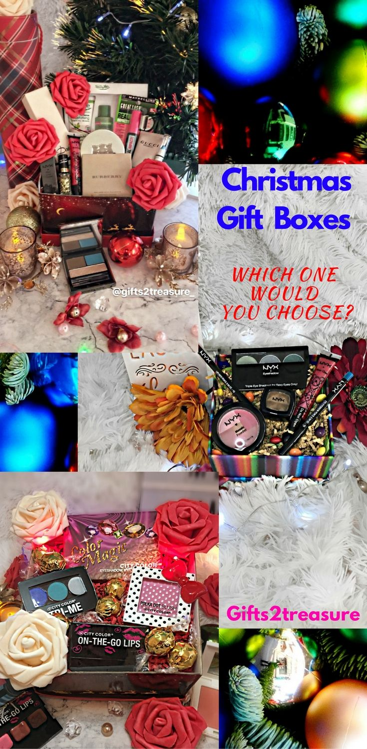 Christmas gift box collection for ladies. From high end to more ...