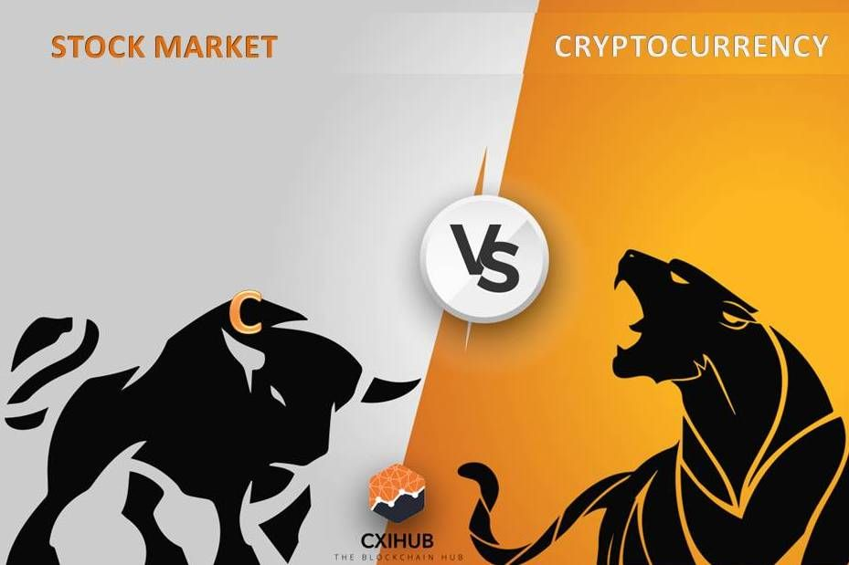 should i equity market or cryptocurrency
