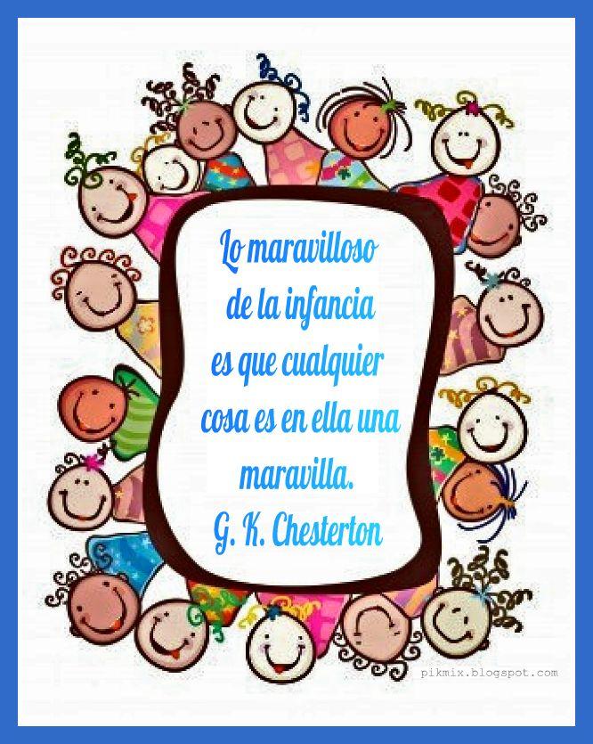 Día Del Niño Infancia Maravillosa