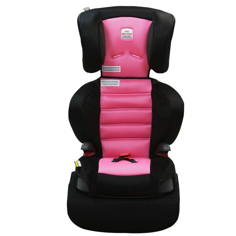Safe n sound hi liner booster seat pink