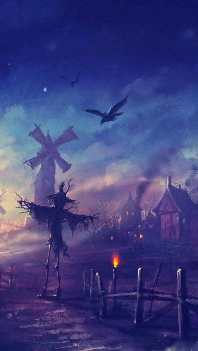 Halloween Spooky Wallpaper.Halloween Night Spooky Iphone Wallpapers Mobile9