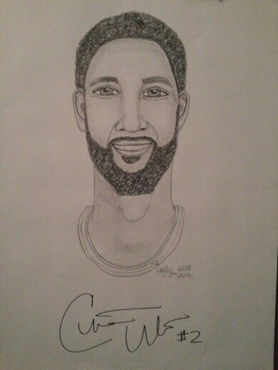 Christian Watford signed art print 18x24  by Holly Hill