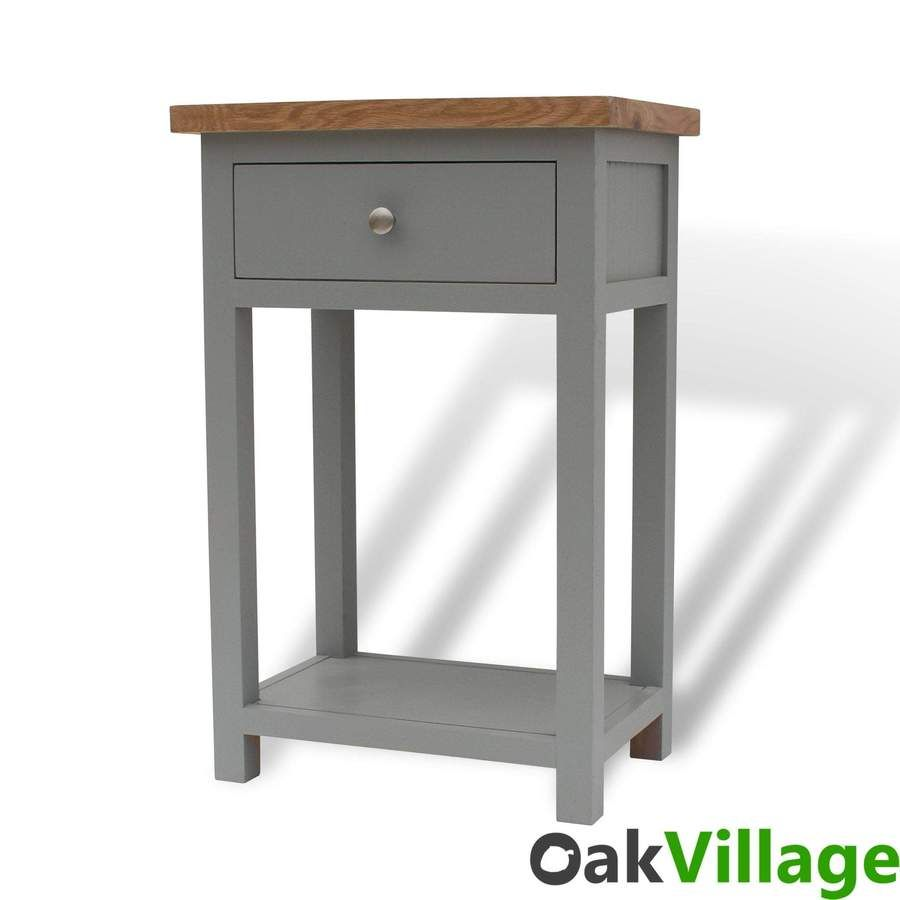 Greymore Painted Oak Small Console Table Small Console Tables