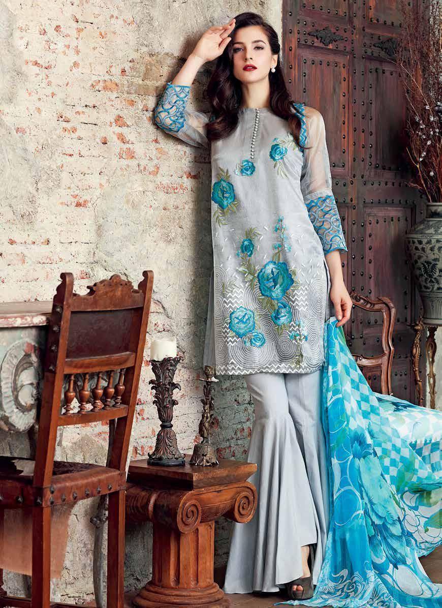 b843bf6458 Gul Ahmed FE67 Luxury Festive Collection 2017 1 | Pakistani dresses ...