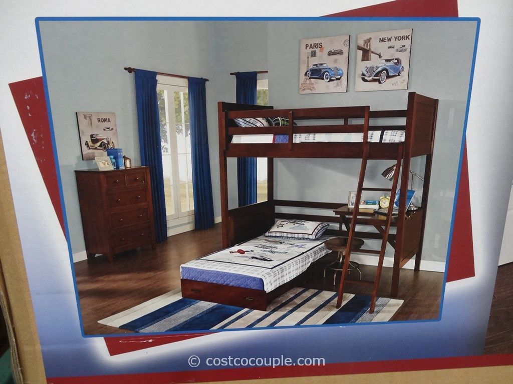 Universal Furniture Bryson Twin Bunk Bed Costco For The Little Guy