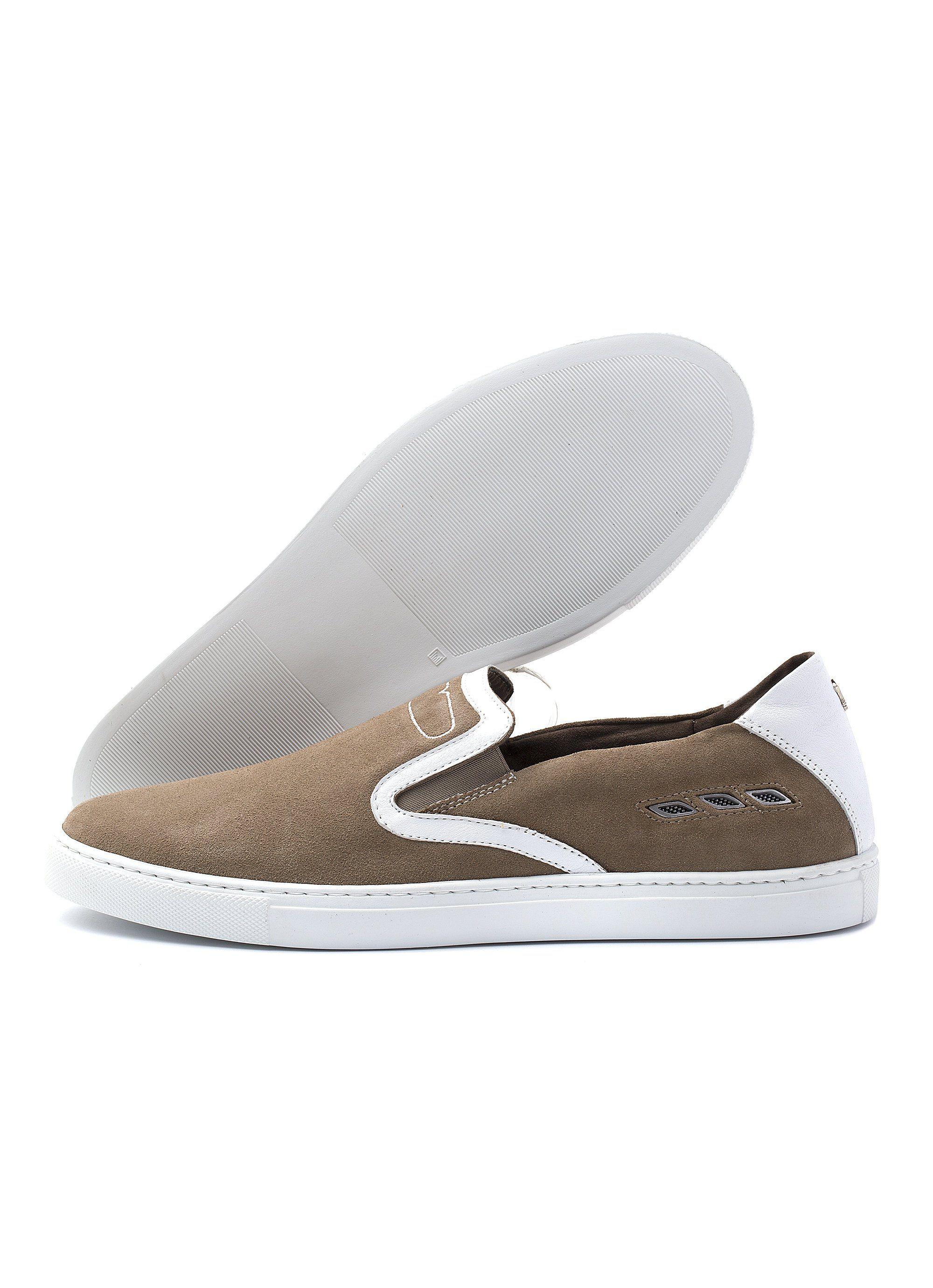 Maserati Store Zapato Portofino de mujer marrón | shoes