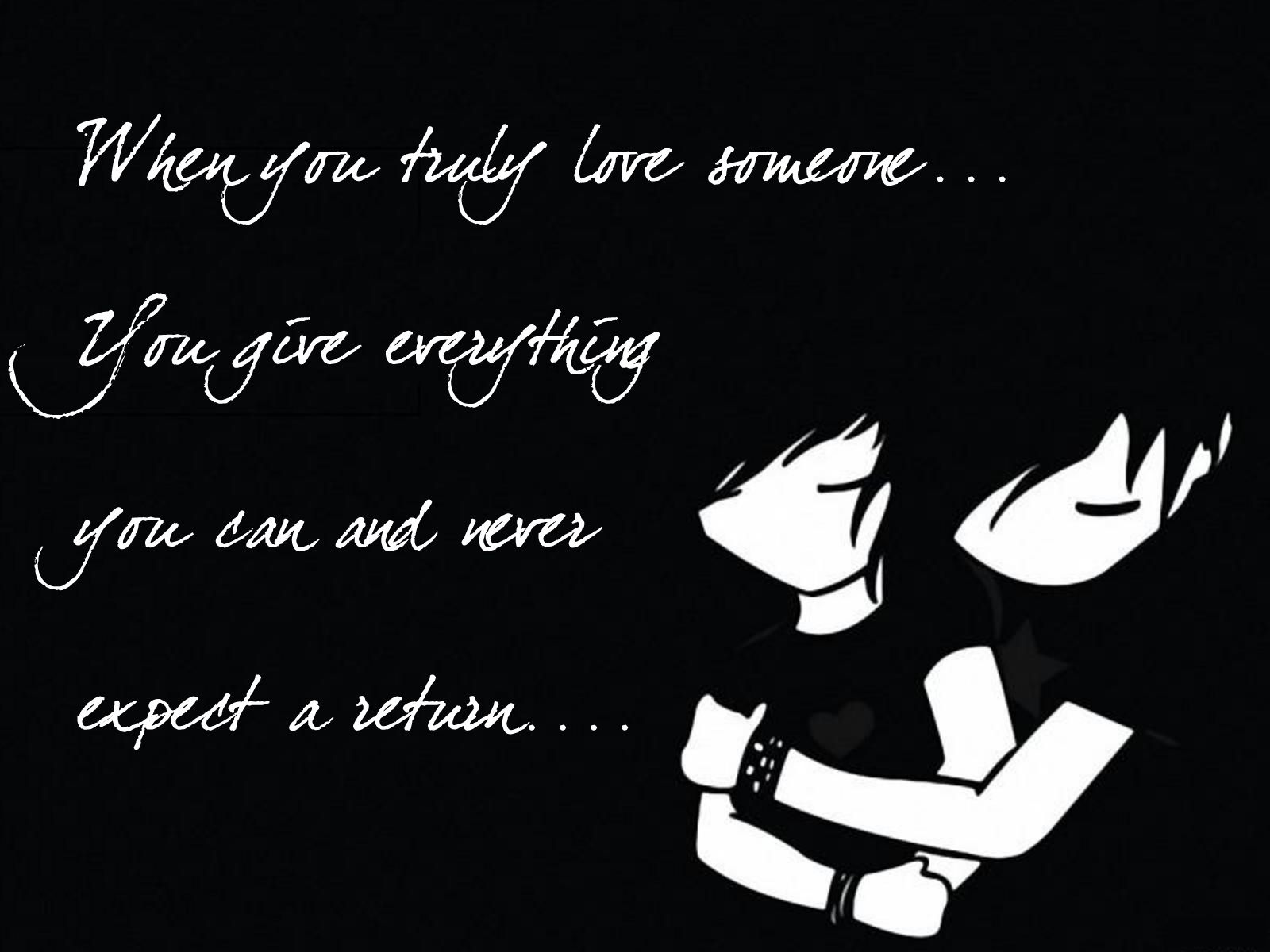 Emo Love Quotes Wallpaper Emo Quotes Pinterest