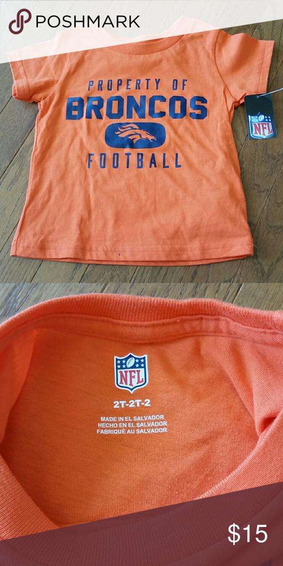 Denver Broncos T-shirt (toddler) Adorable Denver Broncos short sleeve T- shirt. Perfect for game day or just for showing team pride! 0a46a8fe3