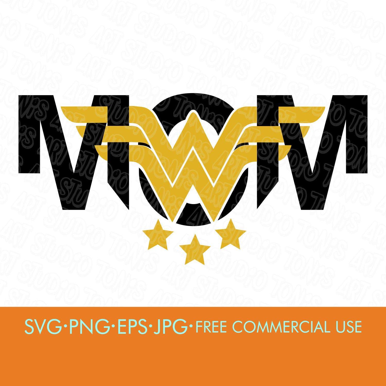 Wonder Woman Mom Svg Mom Shirt Design Svg Png Eps Jpg Files Superhero Svg Svg Files For Cricut Silhouette Dxf Printable Designs Glossy Photo Paper Clip Art