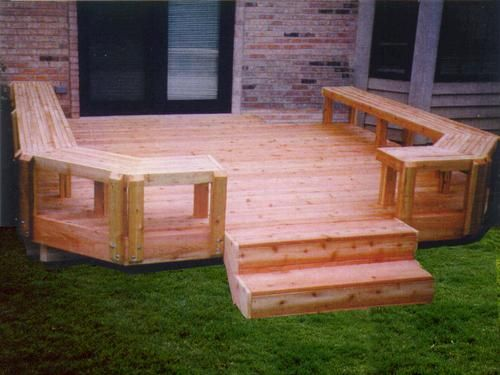 Tremendous Butcher Block Bench Deck Plan At Menards Deck In 2019 Pabps2019 Chair Design Images Pabps2019Com