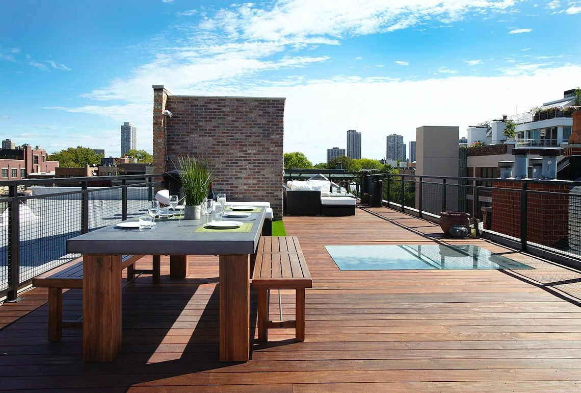 Bring More Natural Light Into Your Life Brick Cladding Outdoor Design Rooftop Deck