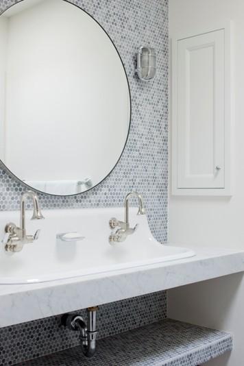 Yes Please Eclectic Bathroom Round Mirror Bathroom Bathroom
