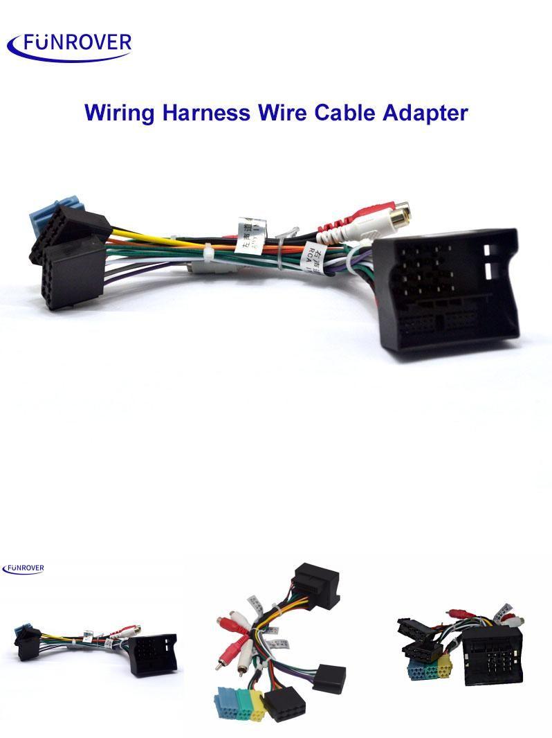 Visit To Buy Funrover Car Iso Radio Plug For Volkswagen Vw Golf Wiring Harness Passat Skoda