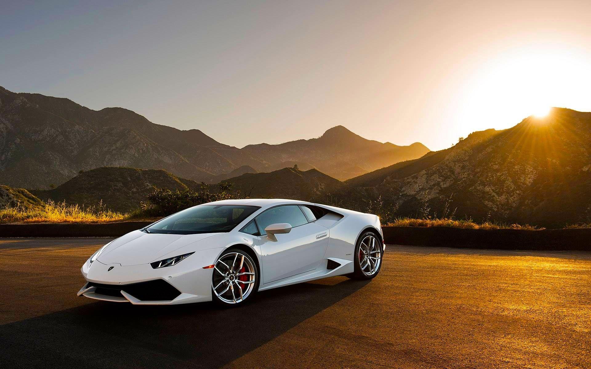 lamborghini huracan white lamborghini huracan lp640 4 white supercar at sunset wallpaper cars