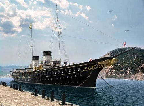 The Imperial Yacht Standart.