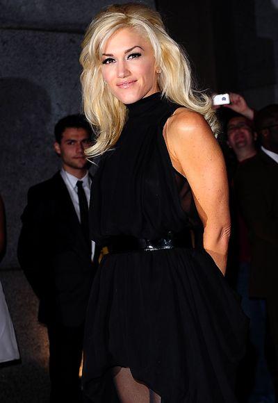 Gwen Stefani's big southern style hair