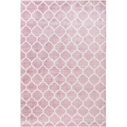 Photo of benuta Viskoseteppich Yuma Rosa 80×150 cm – Vintage Teppich im Used-Look benuta
