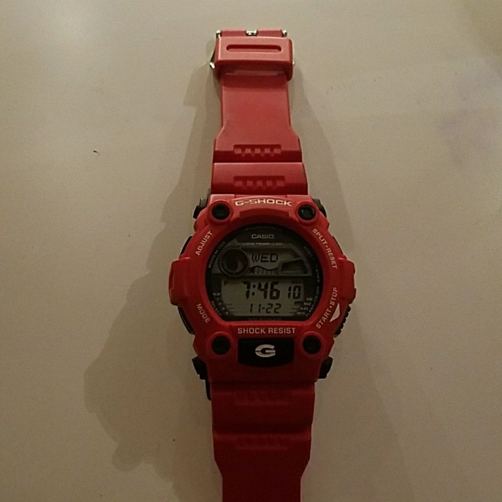 Red g shock products