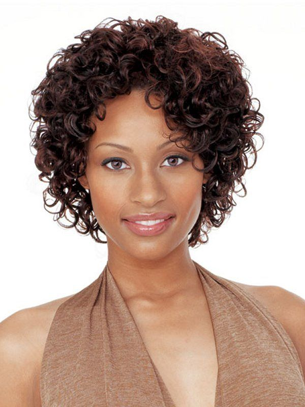 Short Curly Weave Hairstyles | For older clients ...