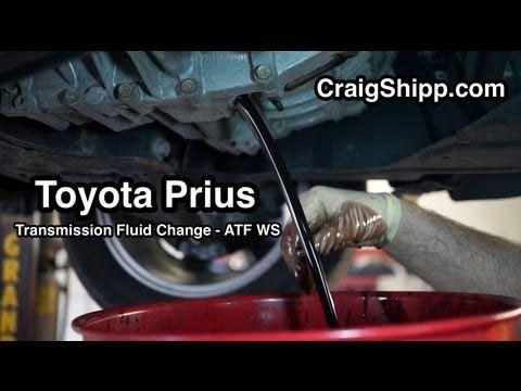 Prius Transmission Fluid Change Ecvt Transmission Fluid Change Prius Transmission