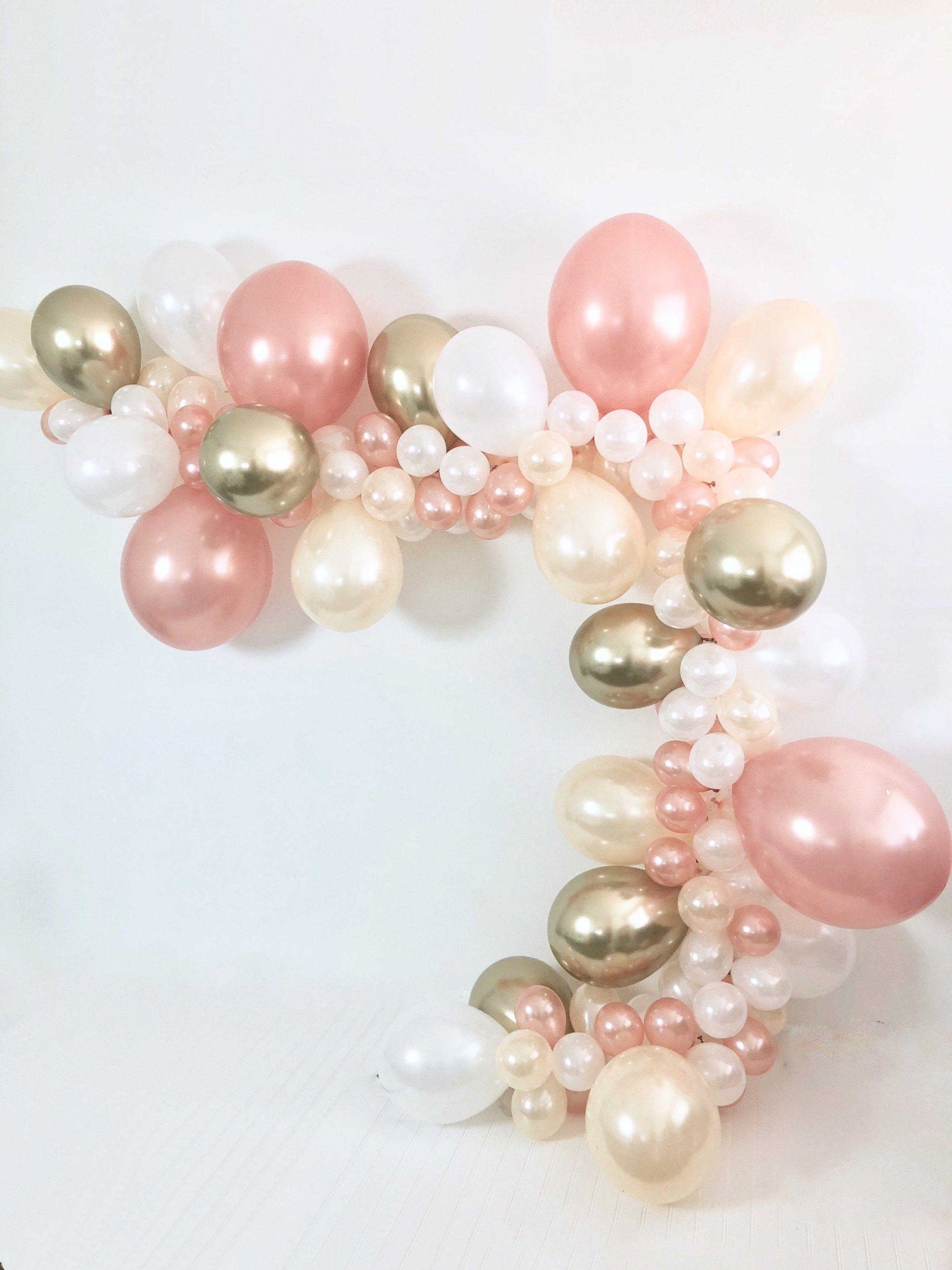 Rose Gold, Pearl Peach, Pearl White, Chrome Gold DIY