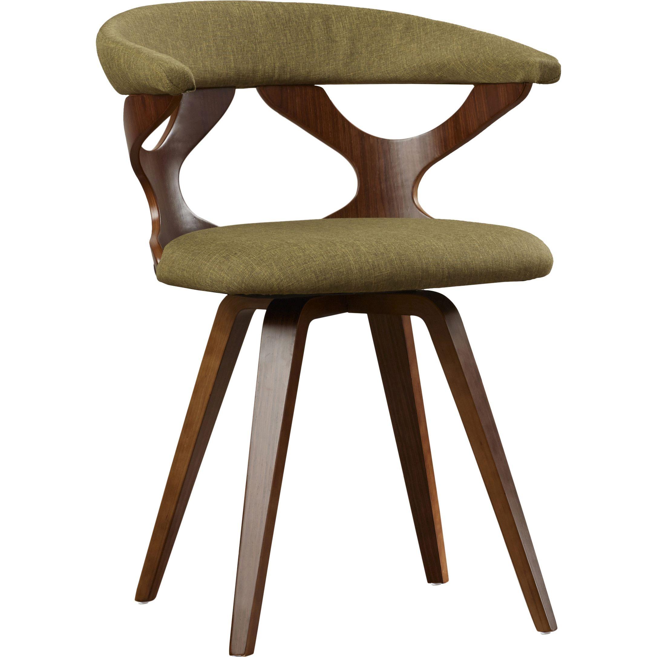 Best Altigarron Swivel Side Chair Chair Blue Velvet Dining 400 x 300
