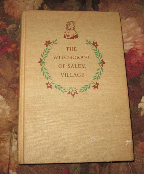 1956 5th printing, The Witchcraft of Salem Village, Landmark