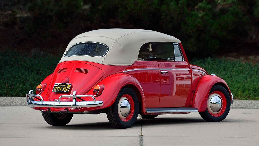 For sale at Mecum Auctions, Monterey, California, U.S.A. A 1964 VW ...