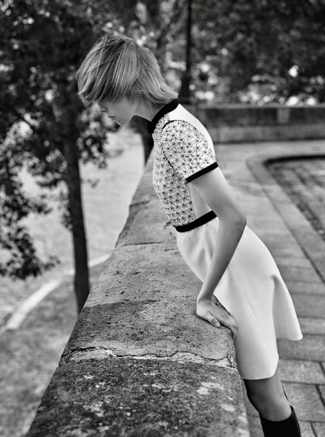 pedalfar:  Vogue Paris Setembro 2014 | Edie Campbell por Alasdair McLellan [Editorial]