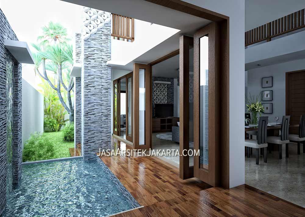 Desain Rumah luas 450 m2 milik bu Devi di Batam Desain